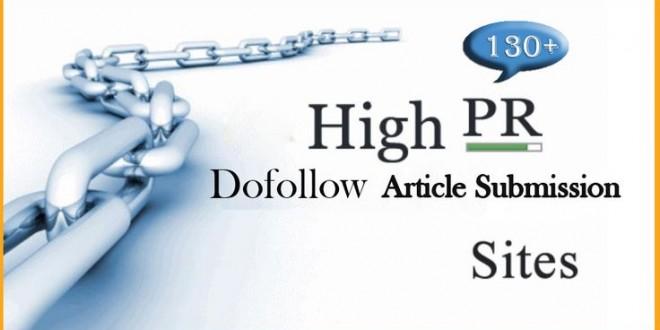 High Pr Top Article Websites list Instant Approval 2018