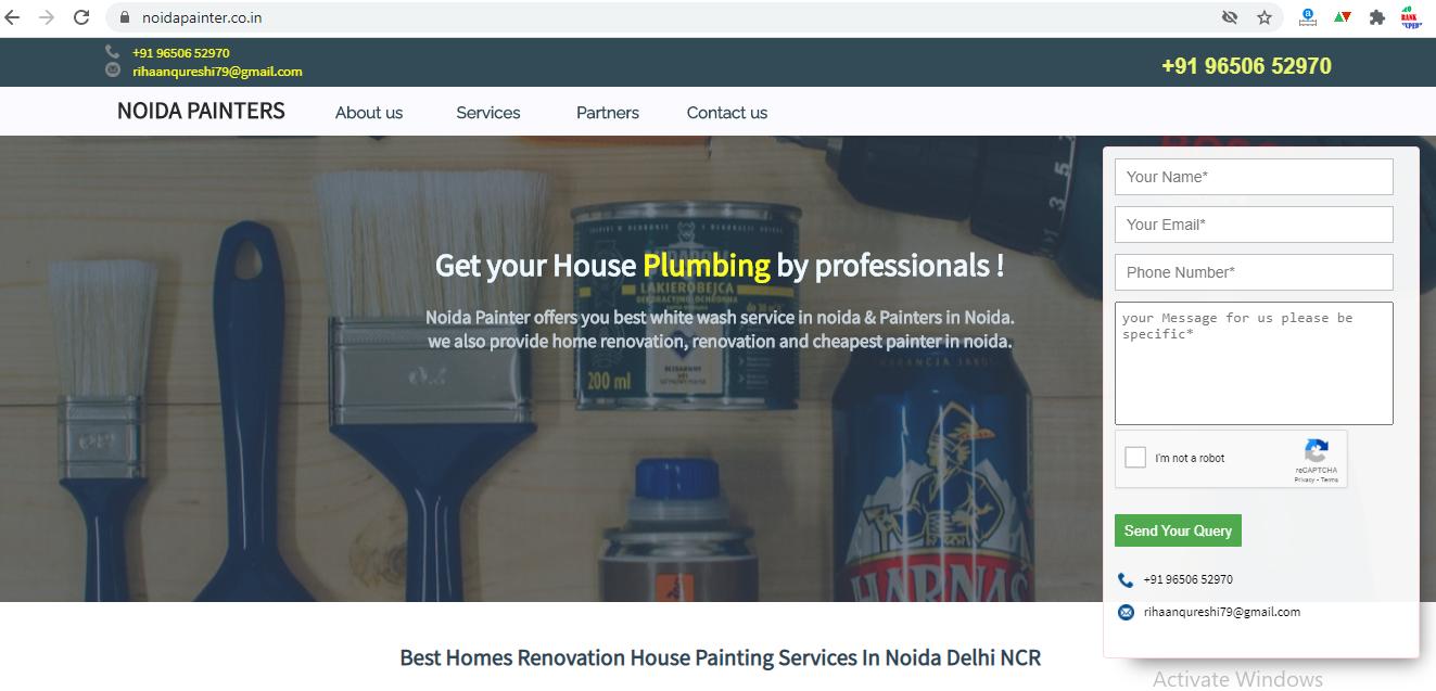 NoidaPainter Website