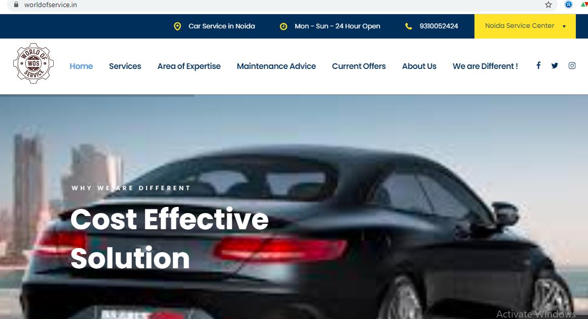 Wos Website Screen SHot